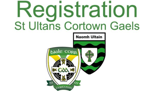 StUltans_Cortown_Gaels_Registration